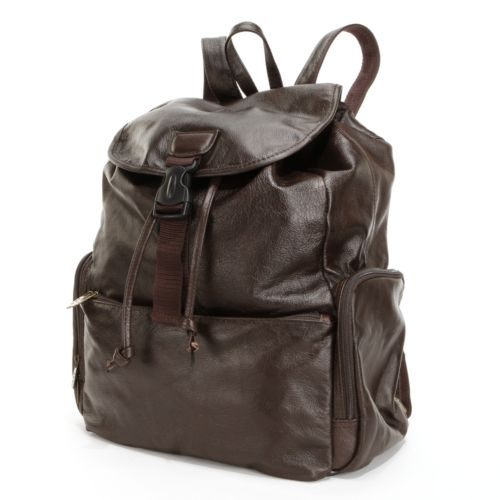 Jumbo Leather Backpack
