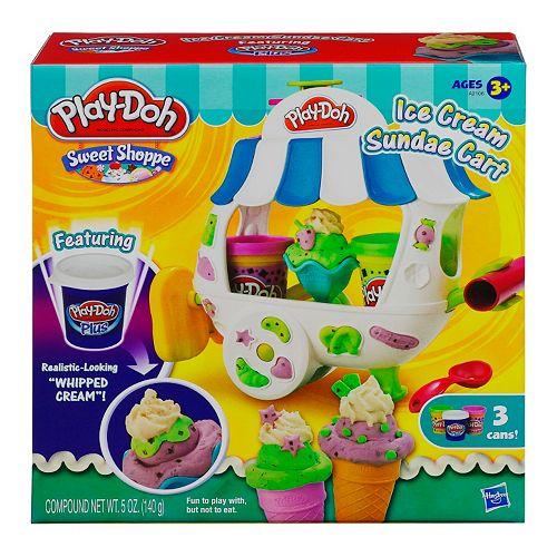 Play-Doh Sweet Shoppe Ice Cream Sundae Cart by Hasbro
