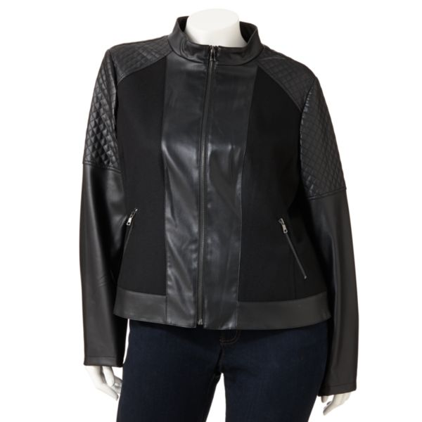 Giacca MixedMedia Motorcycle Jacket Women,s Plus