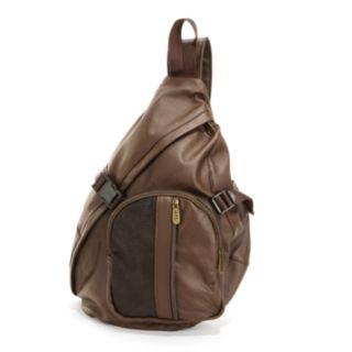 AmeriLeather APC Leather Sling Bag