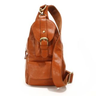 AmeriLeather Grylls Sling Mini Leather Backpack
