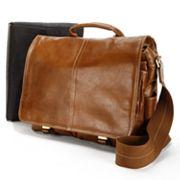 AmeriLeather Legacy Woody Leather Portfolio Messenger Bag