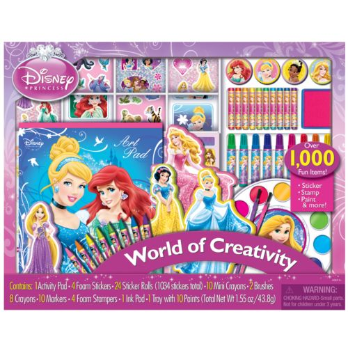 Disney Princess World of Creativity Sticker Collection Set