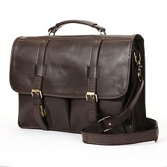 AmeriLeather Partner Leather Briefcase Bag