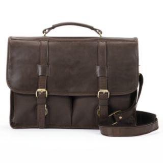 AmeriLeather Partner Leather Briefcase Bag