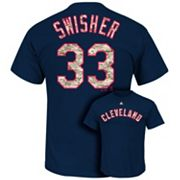 Majestic Cleveland Indians Nick Swisher USMC Tee - Men