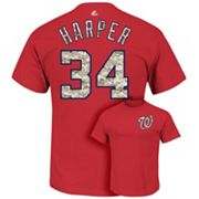 Majestic Washington Nationals Bryce Harper USMC Tee - Men