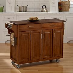 Cherry-Top Kitchen Cart