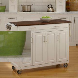 Cherry-Top Kitchen Cart