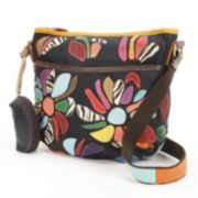 AmeriLeather Tansy Leather Mini Crossbody Bag