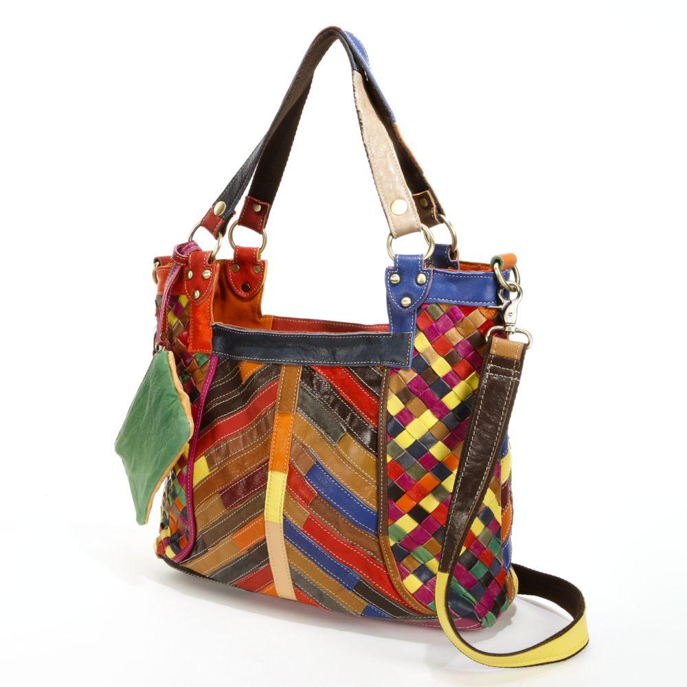 Hazelle Leather Convertible Shoulder Bag