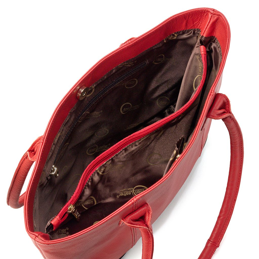 AmeriLeather Casual Leather Tote