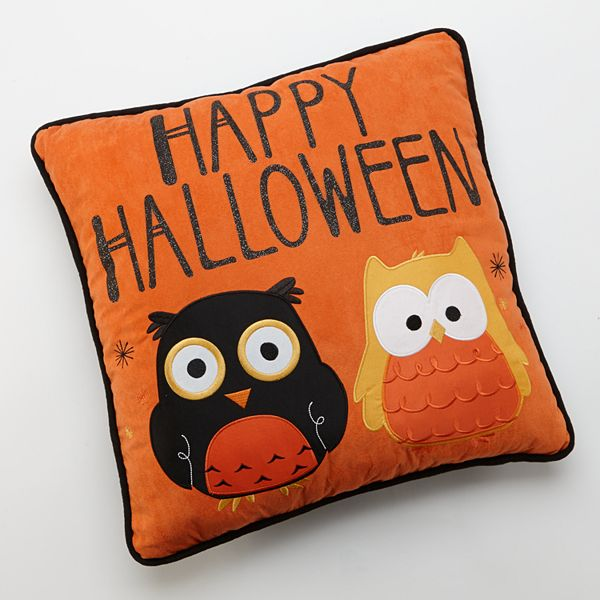 Kohls.com Owl Halloween Decorative Pillow: questions, answers, how to, FAQs, tips, advice ...