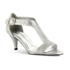 Easy Street Glitz Women's Glitter Dress Sandals