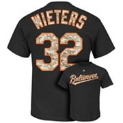 Majestic Baltimore Orioles Matt Wieters USMC Tee - Men