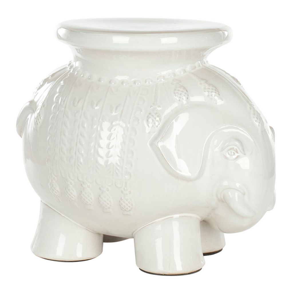 Safavieh Elephant Ceramic Garden Stool