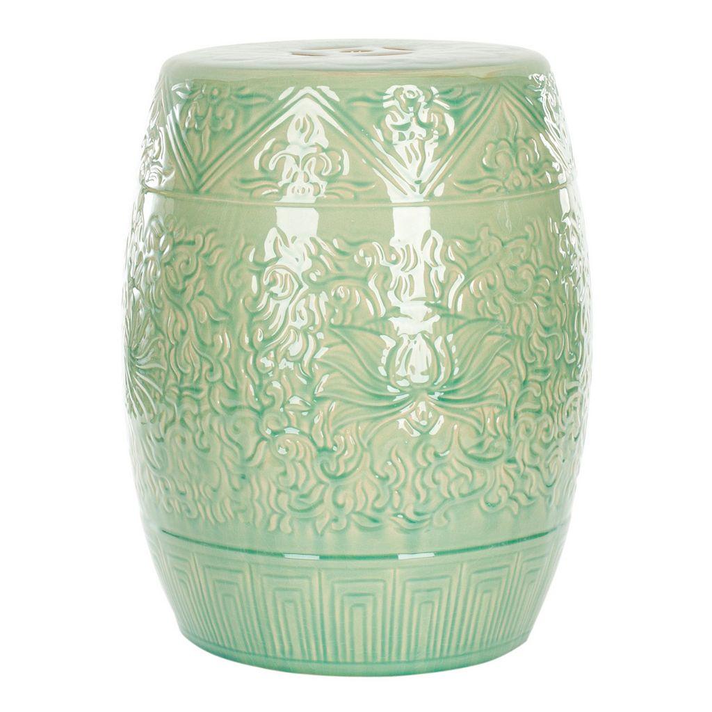 Safavieh Lotus Ceramic Garden Stool