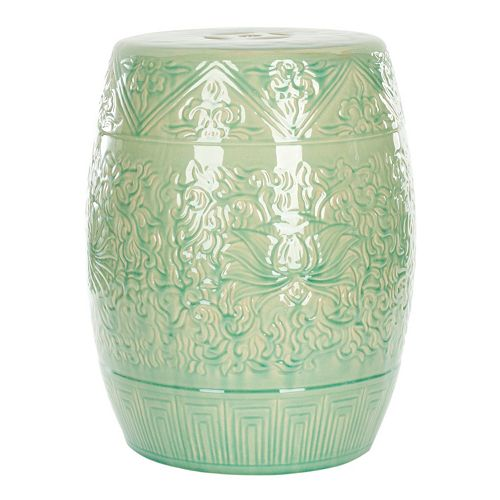 Safavieh Lotus Ceramic Garden Stool