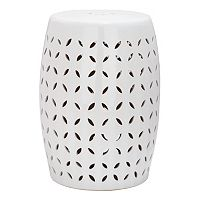 Safavieh Lattice Petal Ceramic Garden Stool