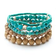Apt. 9 Bead Stretch Bracelet Set