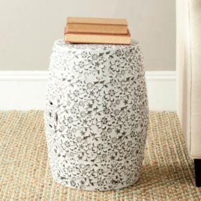 Safavieh Flower and Vine Ceramic Garden Stool