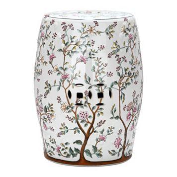 Safavieh Blooming Tree Ceramic Garden Stool