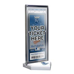 Kansas City Royals Home Plate Ticket Display Stand