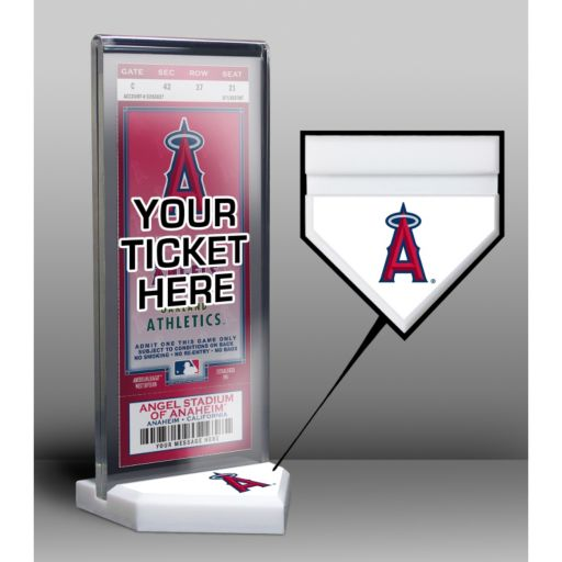 Los Angeles Angels of Anaheim Home Plate Ticket Display Stand