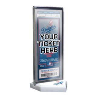 Los Angeles Dodgers Home Plate Ticket Display Stand