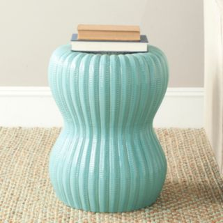 Safavieh Hour Glass Ceramic Garden Stool