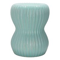 Safavieh Hour Glass Ceramic Garden Stool