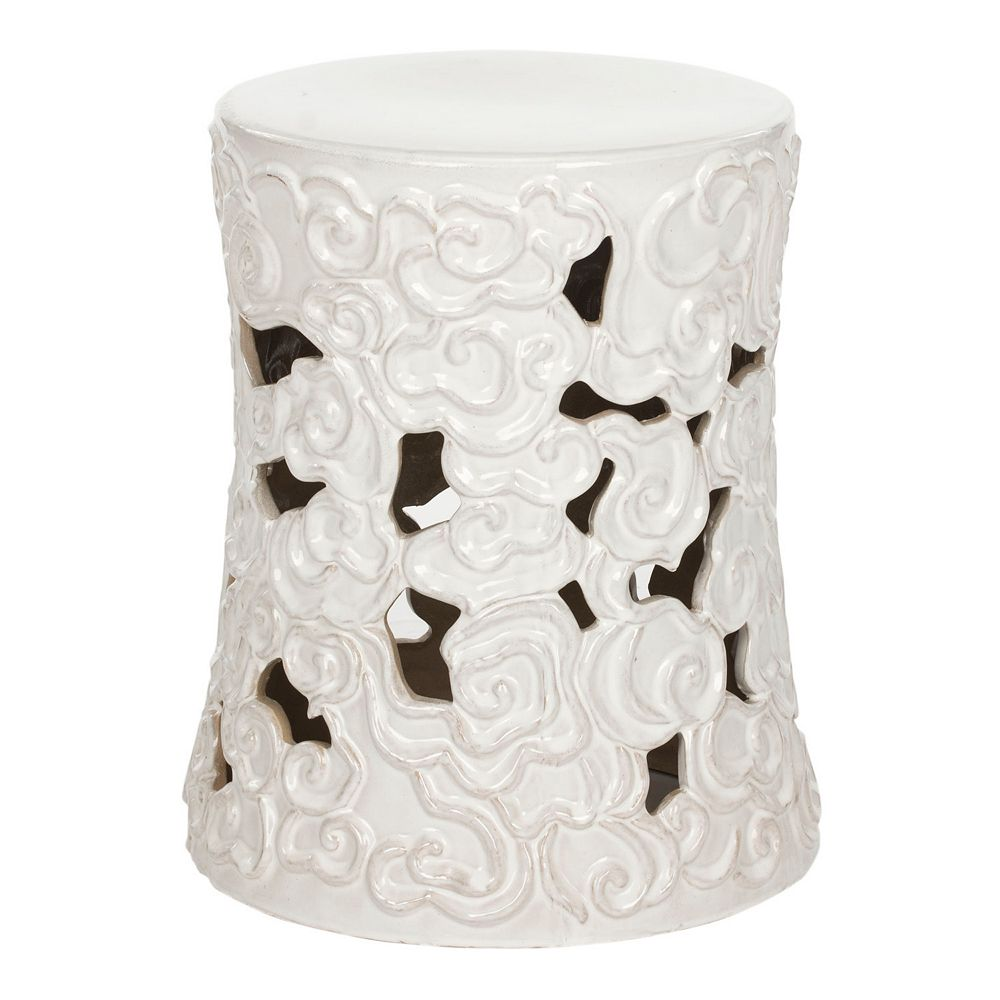 Safavieh Cloud Ceramic Garden Stool