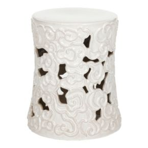 Safavieh Cloud Ceramic Garden Stool
