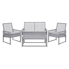 Safavieh Shawmont 4 pc Patio Set