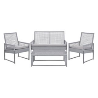 Safavieh Shawmont 4-pc. Patio Set