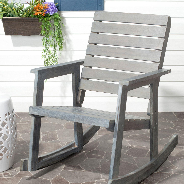 Yellow Rocking Chairs
