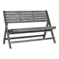 Safavieh Luca Outdoor Folding Bench