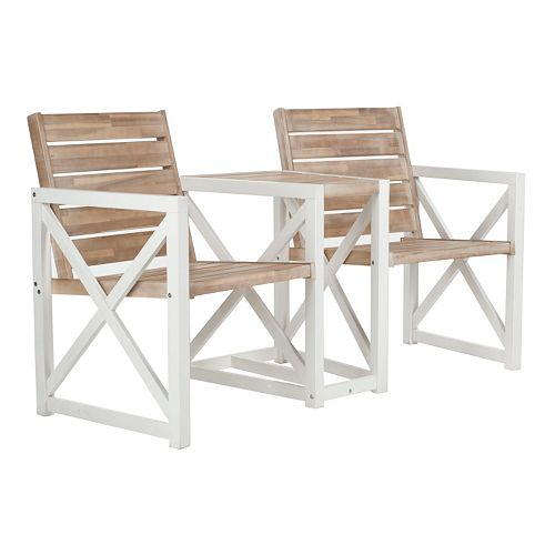 Safavieh Jouana Outdoor 2-Seat Bench