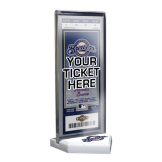 Milwaukee Brewers Home Plate Ticket Display Stand
