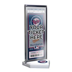 Minnesota Twins Home Plate Ticket Display Stand