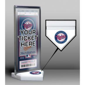 Minnesota Twins Home Plate Ticket Display Stand