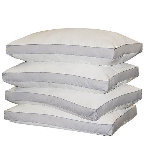 Royal Majesty 4-pk. 1000-Thread Count Down-Alternative Egyptian Cotton Sateen Standard Pillows