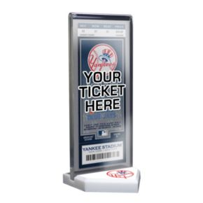 New York Yankees Home Plate Ticket Display Stand