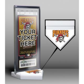 Pittsburgh Pirates Home Plate Ticket Display Stand