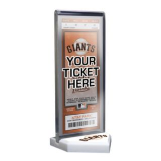 San Francisco Giants Home Plate Ticket Display Stand
