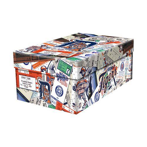 Detroit Tigers Souvenir Ticket Photo Box