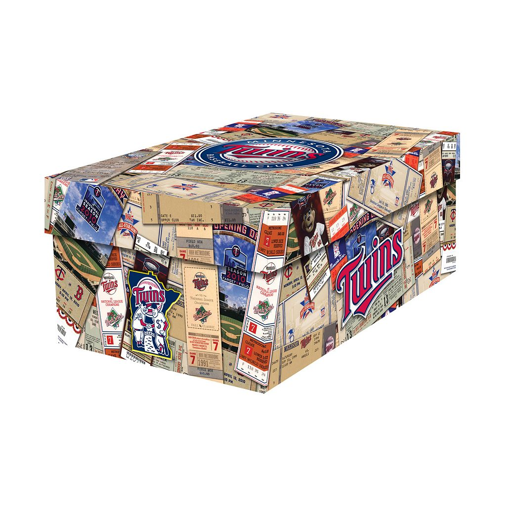 Minnesota Twins Souvenir Ticket Photo Box