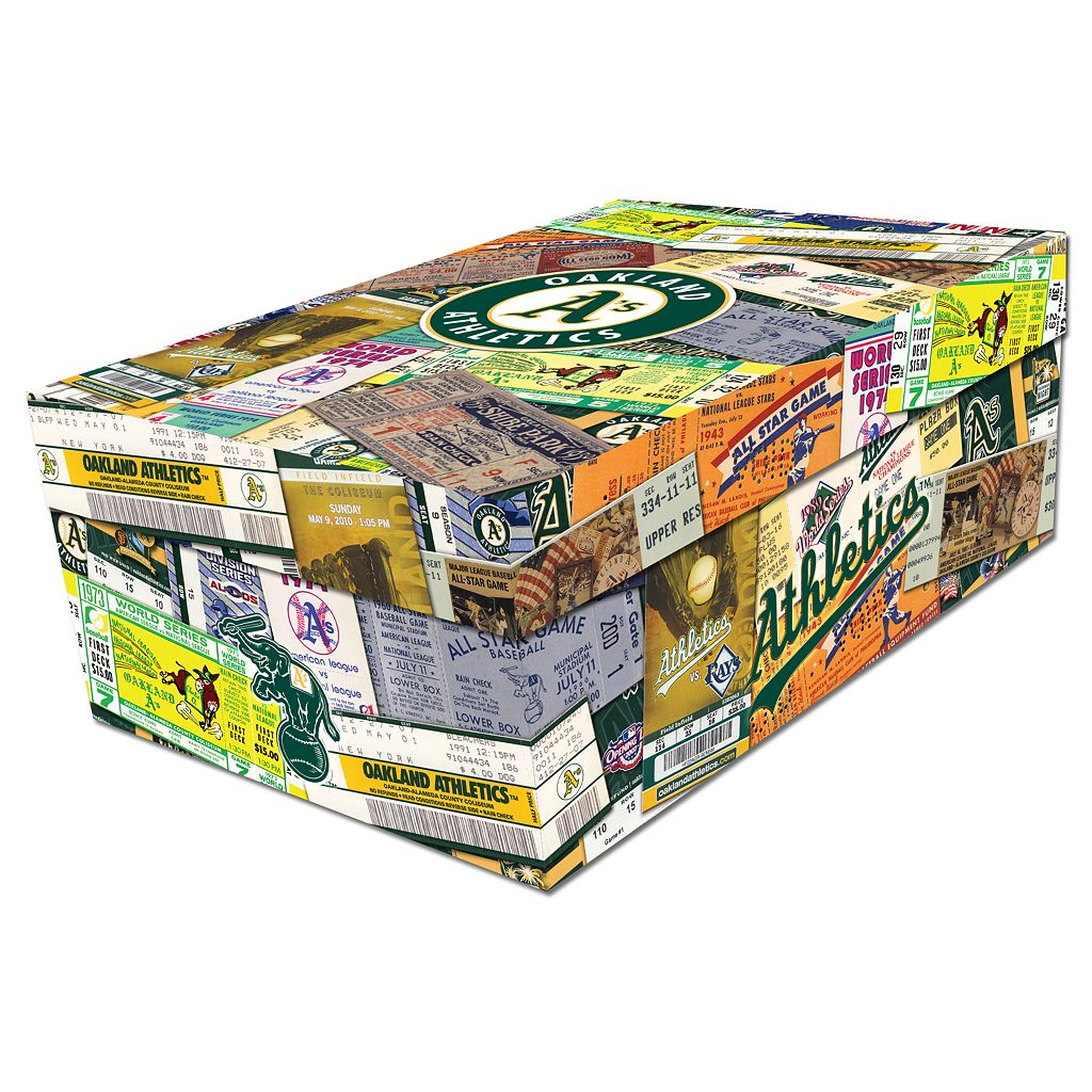 Oakland Athletics Souvenir Ticket Photo Box