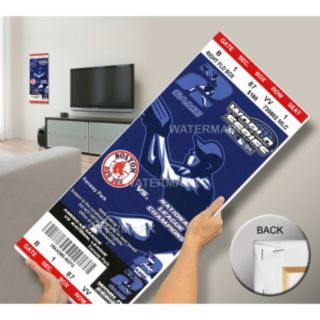 Boston Red Sox 2004 World Series Mega Ticket