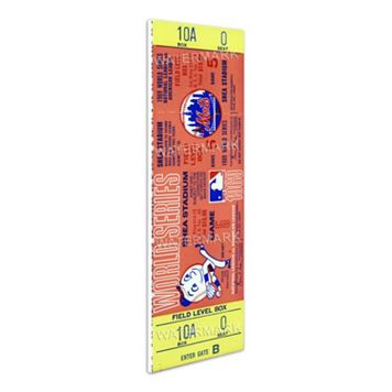 New York Mets 1969 World Series Mega Ticket